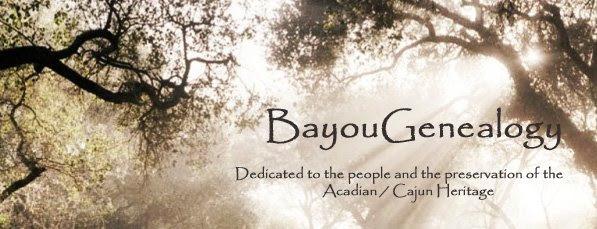 Genealogy on the Bayou