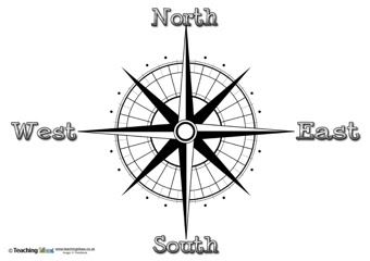 Image Result For Directions Map East West North South