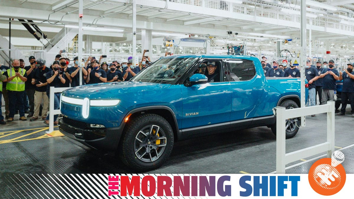 Rivian 'First' To Build EV Pickup Decades After Ford And GM