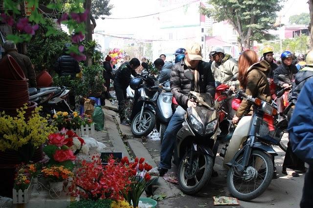 Tết Nguyên đán Bính Thân 2016, chợ hoa Tết