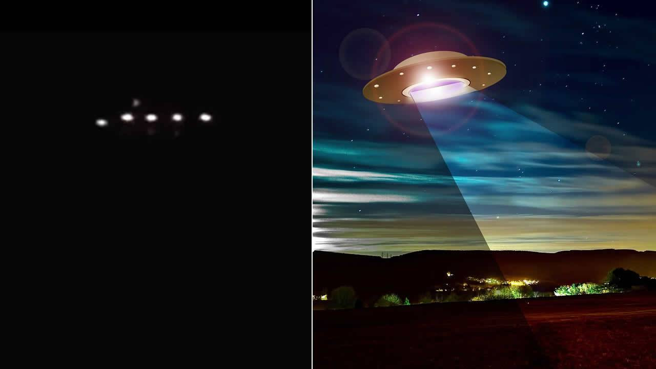 Reportan avistamiento de gran OVNI luminoso sobre Santos, Brasil