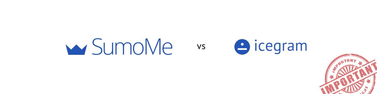 SumoMe vs Icegram
