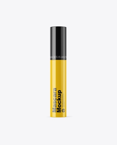 Download Glossy Mascara Tube Mockup Object Mockups
