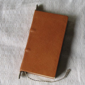 Carolingian style hand bound book