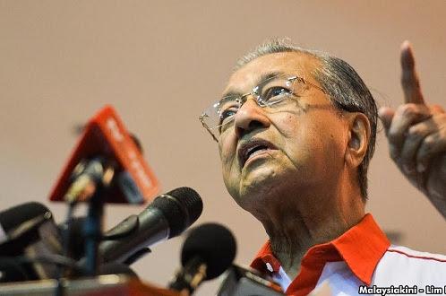 'Bagi Najib duit itu raja, dia boleh buat apa saja' - Tun Mahathir