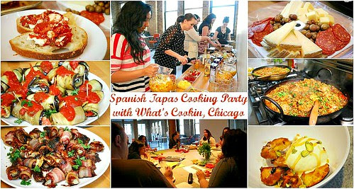 DOLE Taste of Spain Tapas Cooking Party!