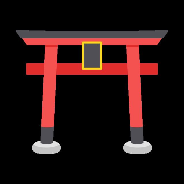神社の鳥居の無料ベクターイラスト素材 Picaboo ピカブー 無料