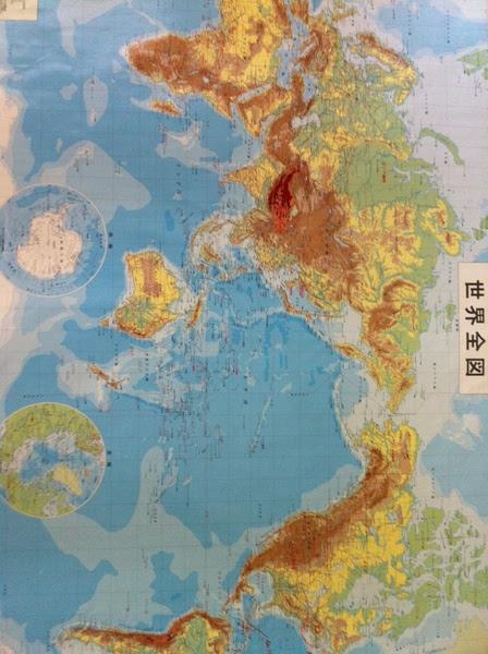 手帳サイズに印刷できるカラーの世界地図データを探しています小さい国の名前