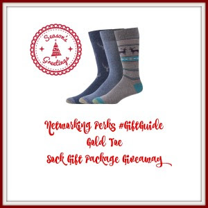 Enter the Gold Toe Sock Giveaway. Ends 12/30