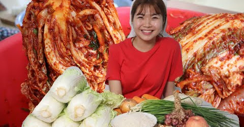 Tất tần tận về Kim chi Hàn Quốc đơn giản tại nhà 🇻🇳281