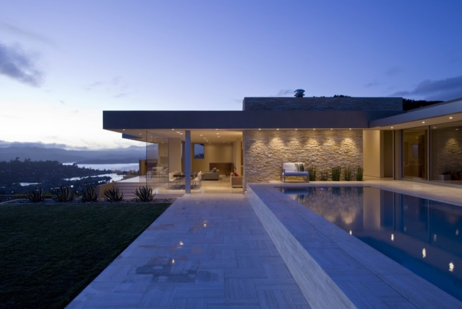 Dream Transformation of One Story House in Tiburon, California ...
