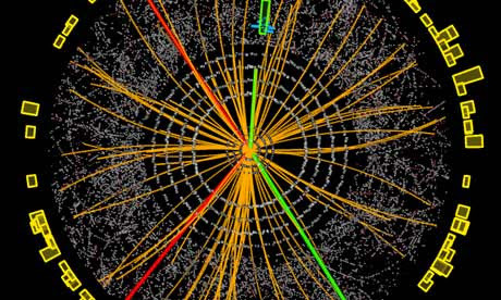 Event display of a Higgs Boson 2e2mu