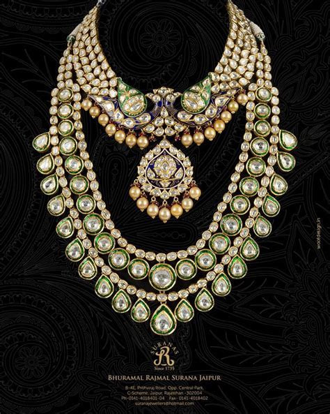 Indian Bridal Kundan and pearl jewellery. Bridal fashion