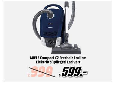 MIELE Compact C2 Freshair Ecoline Elektrik Süpürgesi Lacivert 599TL