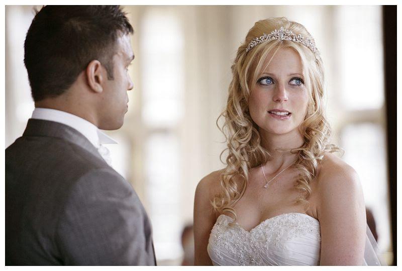 Couple wedding at Fanhams, Ceremony at Fanhams