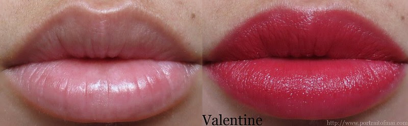 Performance Colors Semi Matte Lipstick in Valentine