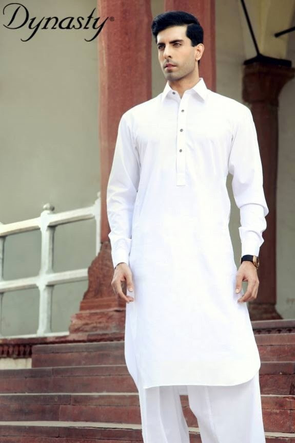 Mens-Wear-Cotton-Embroidered-Kurta-Pajama-By-Dynasty-Fabrics-New-Fall-Collection-2013-14-8