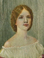Sarah Lavinia Perkins Portrait from locket