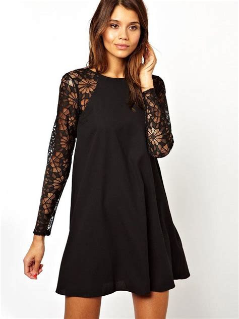 slassic dresses blog black long sleeved dress