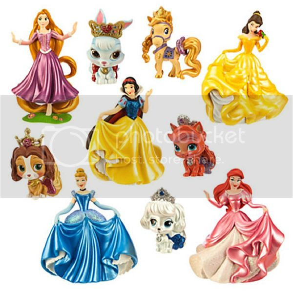 Disney Princess Palace Pets Deluxe Figure Play Set - New