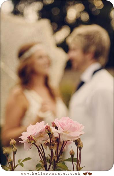 Bride and Groom Roses, Glemham Hall Wedding Photography Suffolk - Hello Romance