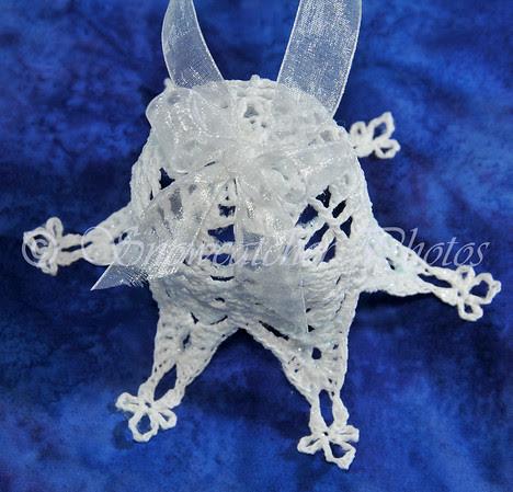 Christmas Snowflake Bell