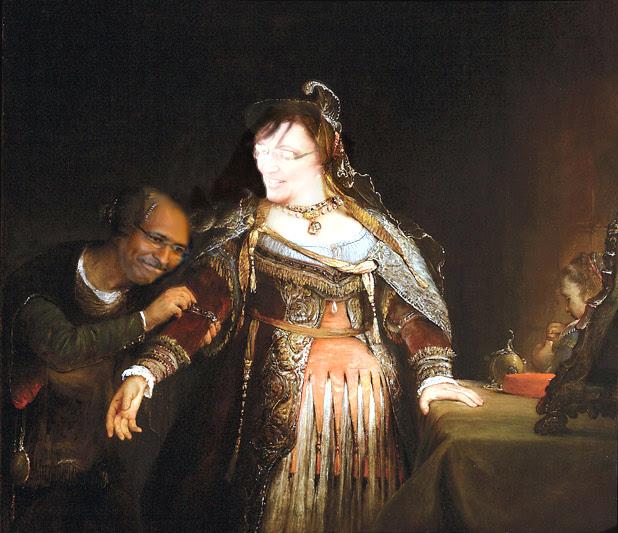 Sarah as queen