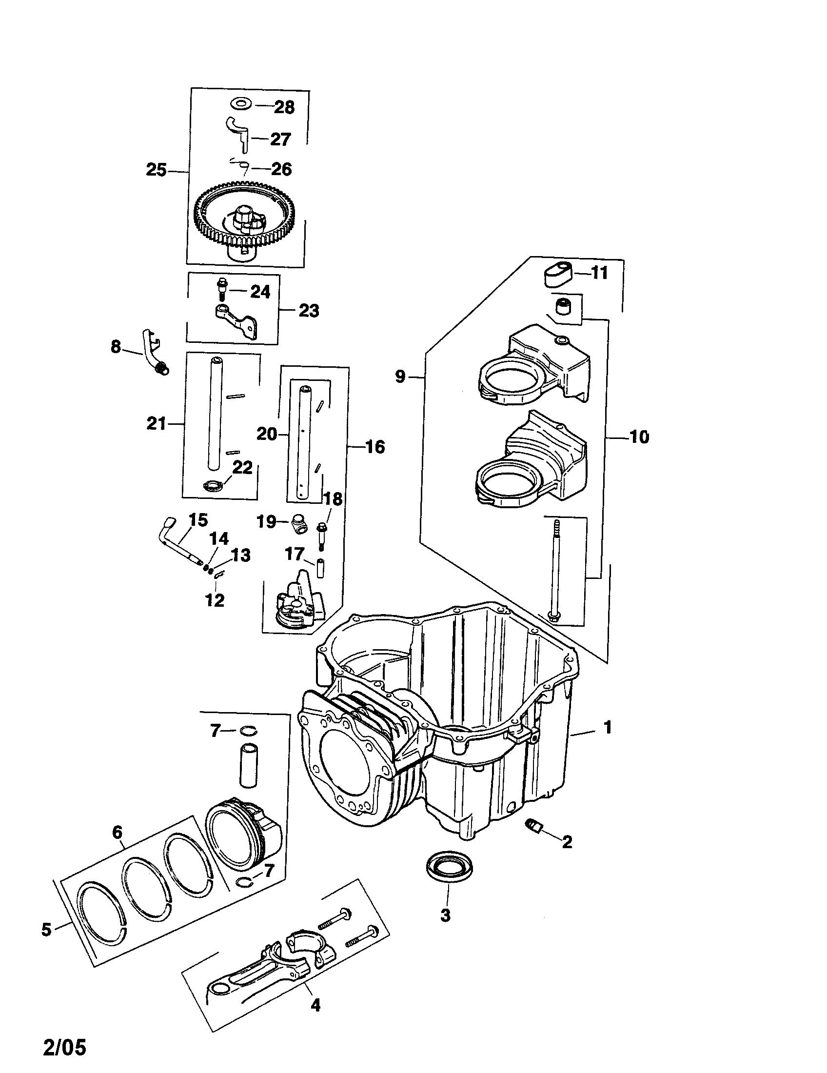 KOHLER ENGINE Parts   Model SV600S0010   Sears PartsDirect