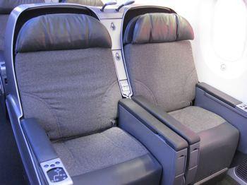 Empty boeing seats