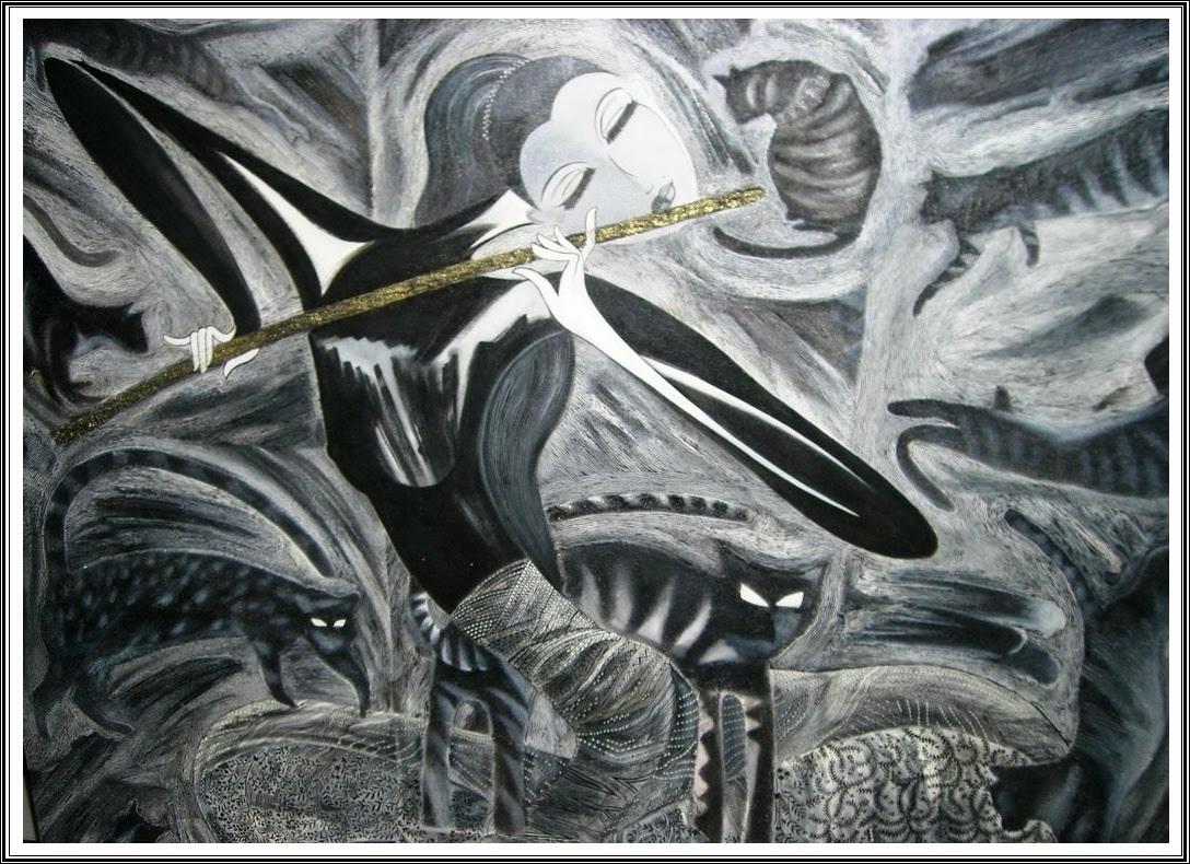 87 Gambar Abstrak Menggunakan Pensil Terbaik