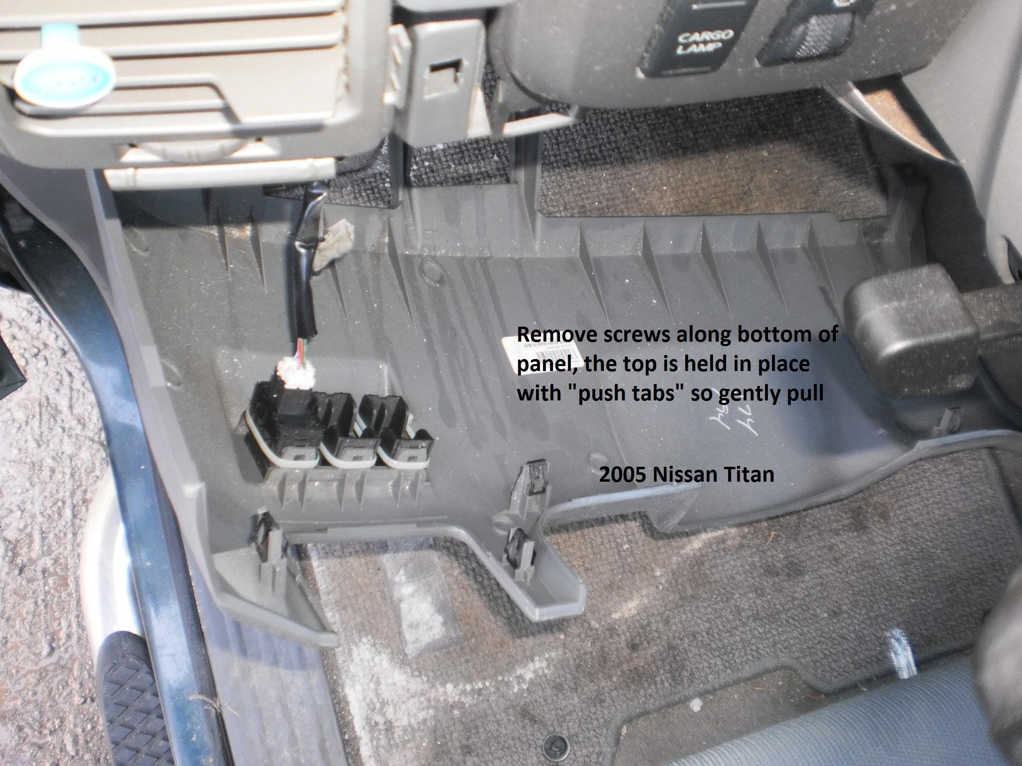 Nissan Titan Trailer Wiring Adapter