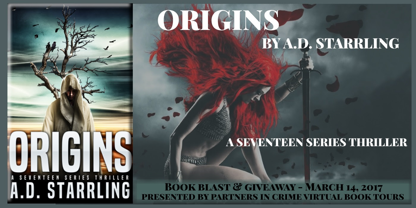 Origins by AD Starrling Banner