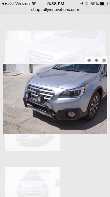 Subaru Outback Light Bar