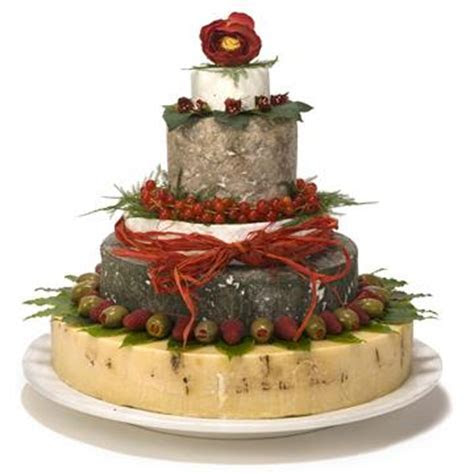Haytor Cheese Wedding Cake   The Cheese Shed