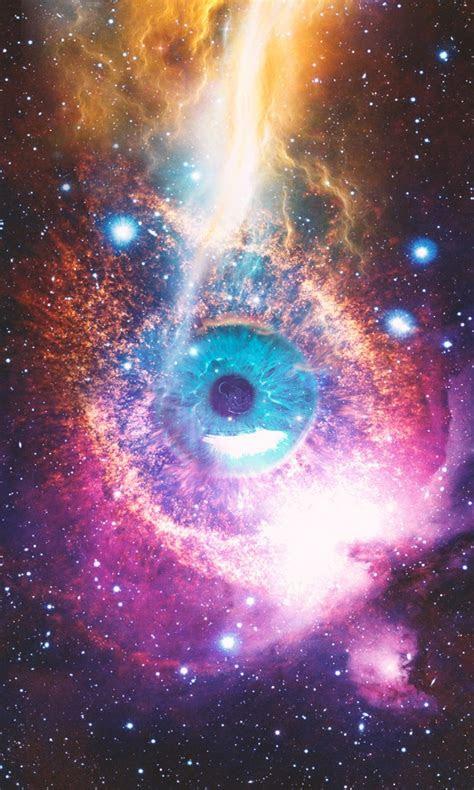 cosmic space eye wallpapers hd wallpapers id