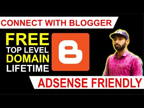 How to Get Free Domain for Blogger (Lifetime Free)