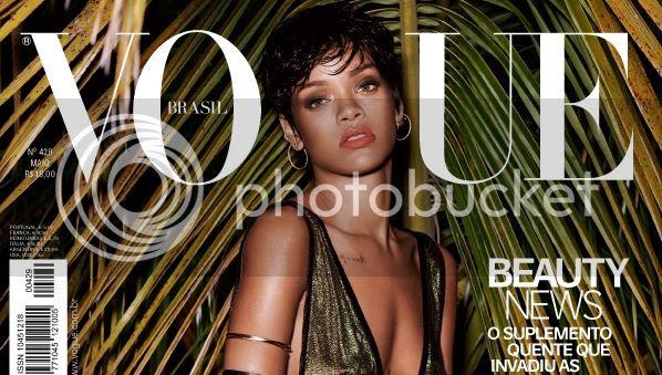 Rihanna covers Vogue Brasil, twice!