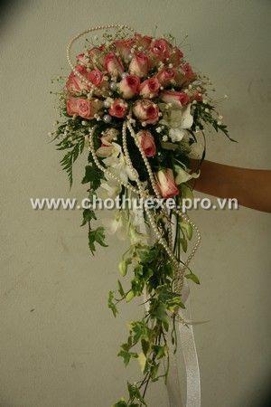 Mẫu hoa cưới cầm tay