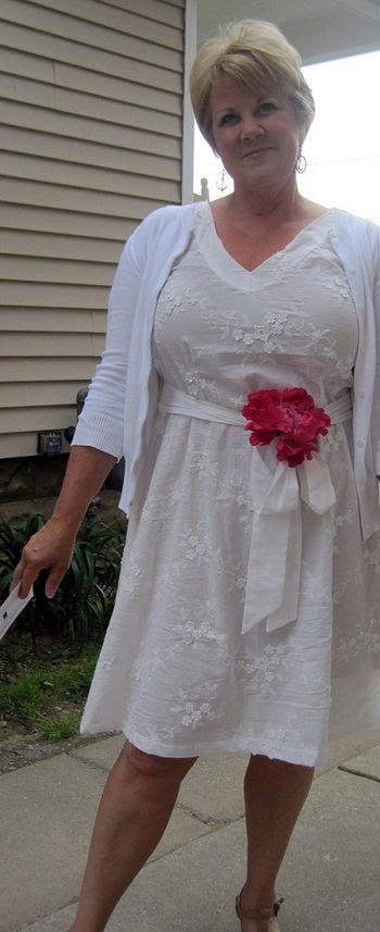 White dress AMH Socialite