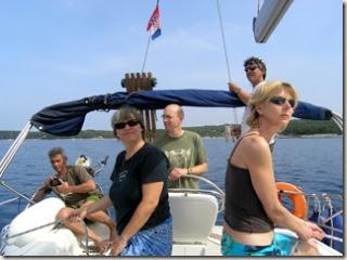 Andy, Tracy, Simon, Richard and Sally