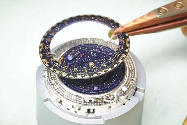 Ρολόι εμπνευσμένο από το πλανητικό σύστημα (6)