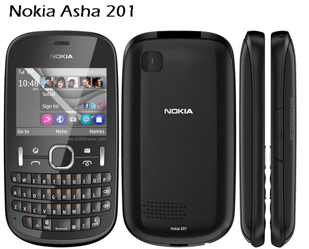 Nokia-2012 model Nokia-Asha201