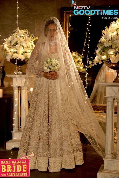 First ever christian bride wearing sabyasachi dress on