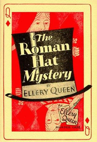 The Roman Hat Mystery original cover art