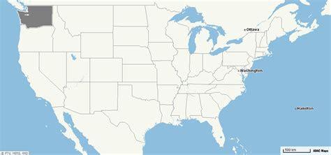 die  bundesstaaten der usa washington state mit