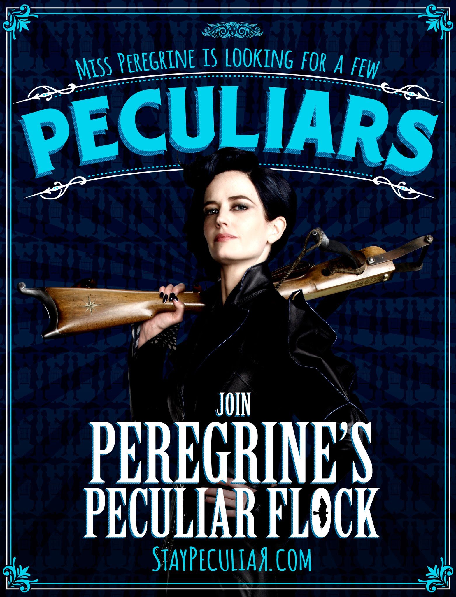 Miss Peregrine Is Looking For A Few Peculiars Miss Peregrine S