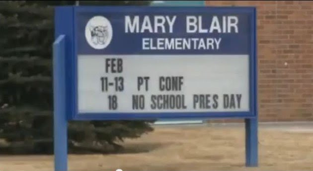Mary Blair Elementary (screen grab from Fox-31 Denver)