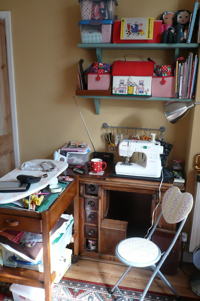 Sewing space work area
