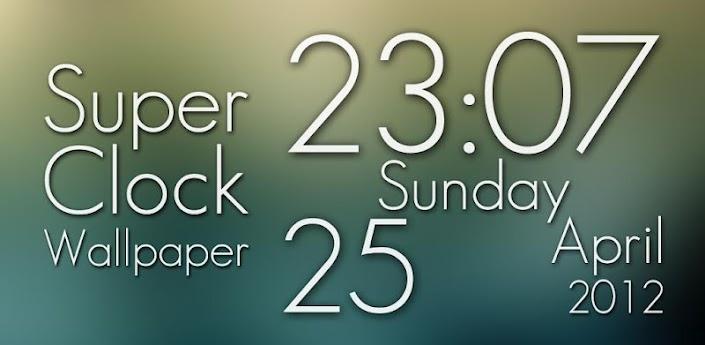 Super Clock Live Wallpaper Pro v1.8 Android Apk Download ...