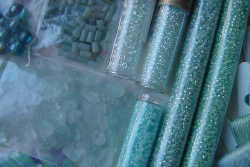 Sea Glass Beads